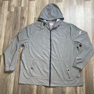Men's Hunter Lightweight Zip Hooded Rain Jacket 3X